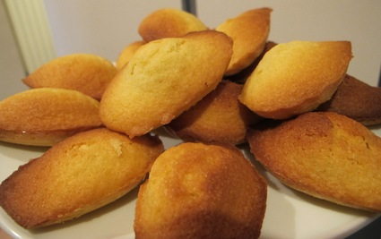 Madeleines très faciles