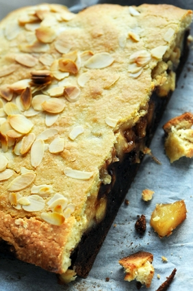 Recette de brookie amandes pommes antarès® et chocolat