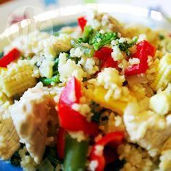 Recette salade de couscous au poulet – toutes les recettes allrecipes