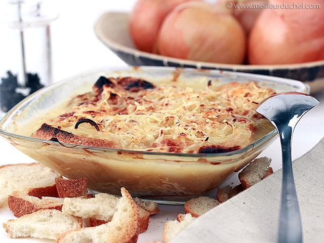 Soupe à l'oignon  recette de cuisine avec photos  meilleurduchef ...