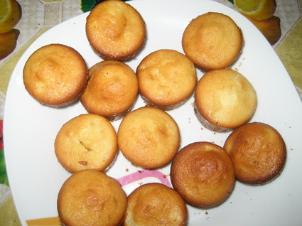 Recette de mini-muffins yaourt-ananas