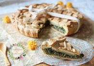 Recette de tarte épinard, brousse de brebis, jambon cru et pignons ...