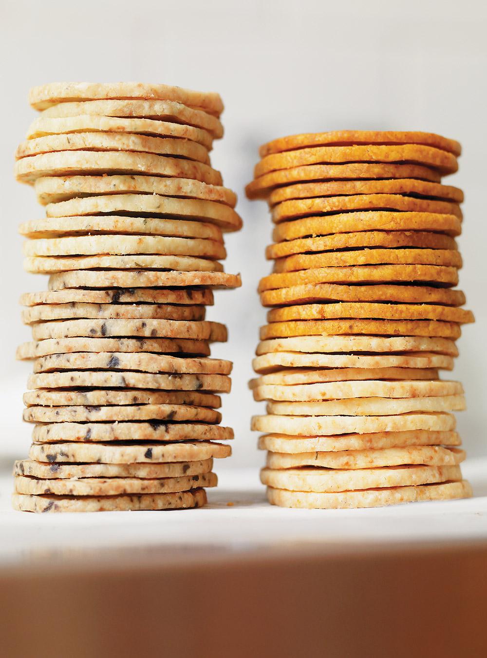 Biscuits de base au parmesan | ricardo