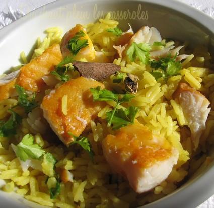 Recette de kedgeree (riz au curry et au haddock)