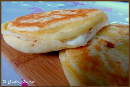 Recette de galette aux 3 fromages (féta, mozzarella, ricotta)