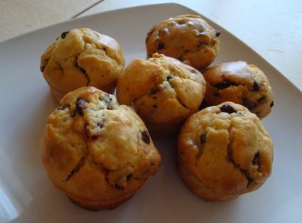 Recette de muffins cranberries chocolat