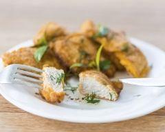 Recette filets de poulet panés