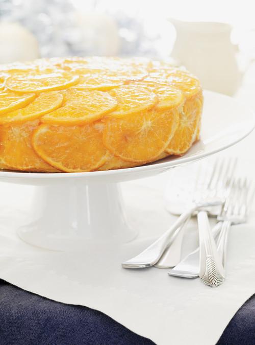 Gâteau glacé à la clémentine | ricardo
