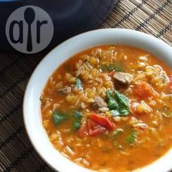 Recette harira marocaine aux lentilles et au riz – toutes les recettes ...