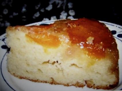 Recette de gâteau de la femme pressée aux abricots