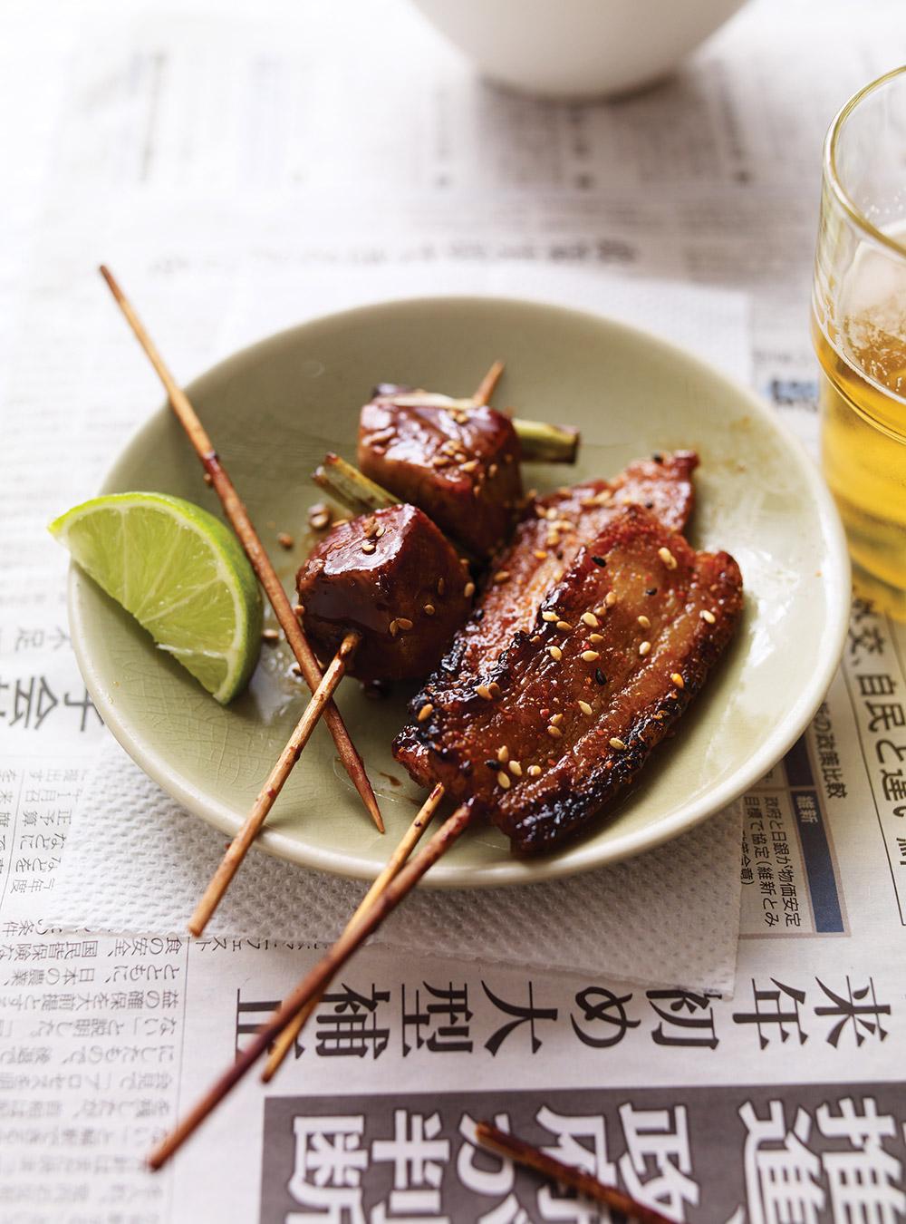 Yakiton (brochettes de porc japonaises)   ricardo