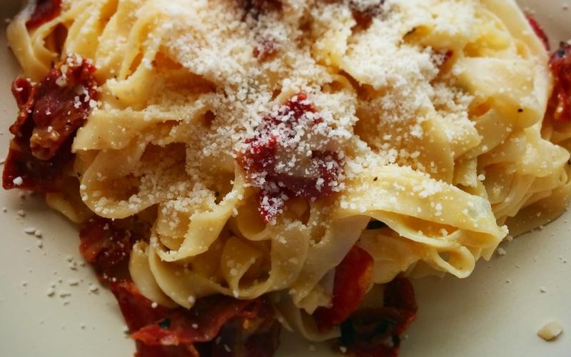 Recette la véritable carbonara pastafariste. économique > cuisine ...