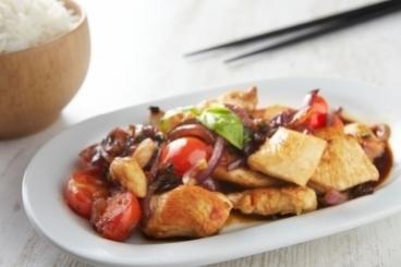 Recette de wok asiatique de poulet facile et rapide
