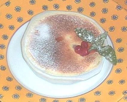 Recette de gratin de fruits rouges et sabayon aux agrumes
