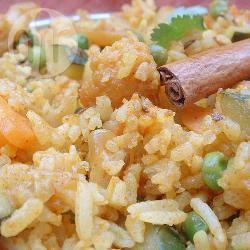 Recette recette de riz aux légumes indien le pulao – toutes les ...