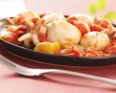 Recette calamars cuisinés à la provençale