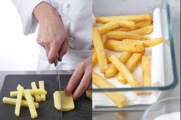 Recette de frites à la graisse de canard facile et rapide