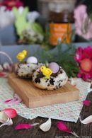 Recette de petits gâteaux nids de pâques