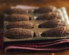 Recette madeleines au chocolat à la poudre d'amande