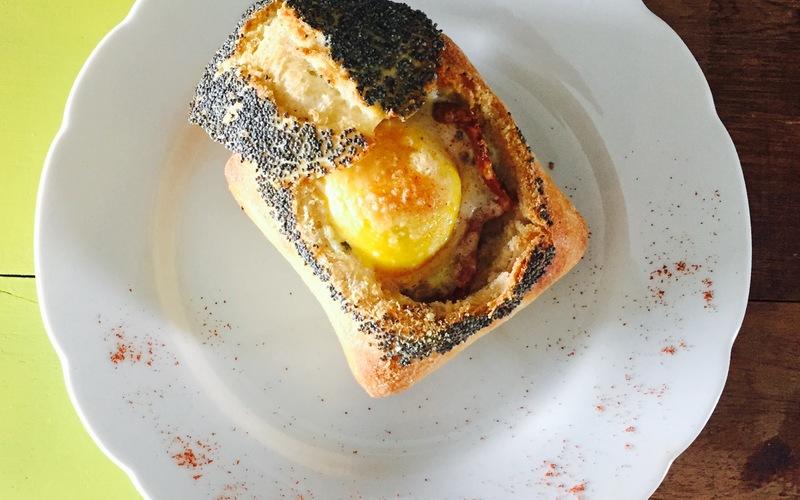 Recette egg boat économique et express > cuisine étudiant