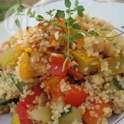 Recette couscous tunisien aux légumes 25 minutes chrono ...