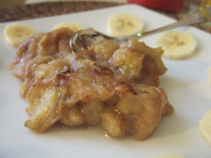 Recette de compote de bananes à la cannelle