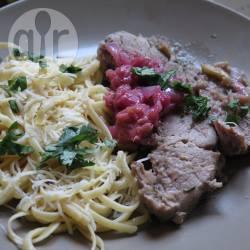 Recette rôti de porc à la rhubarbe – toutes les recettes allrecipes
