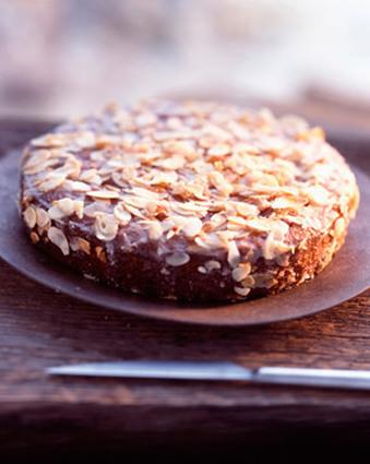Recette de gâteau aux amandes et aux oranges confites
