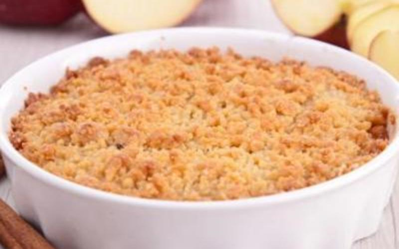 Recette crumble pomme- poire facile! économique > cuisine ...