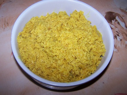 Recette de riz basmati au curry