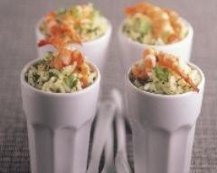 Recette riz pilaf aux crevettes