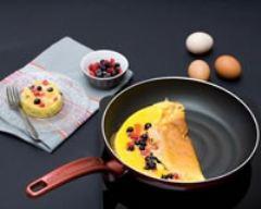 Recette omelette sucrée aux fruits rouges