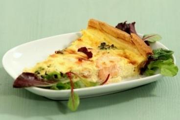Recette de quiche saumon, brocoli et roquefort facile et rapide