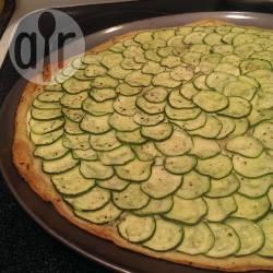 Recette tarte fine au boursin™ et aux courgettes – toutes les ...