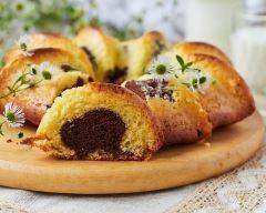 Recette gâteau marbré chocolat-vanille sans gluten