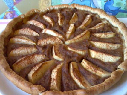Recette de tarte aux pommes et aux speculoos