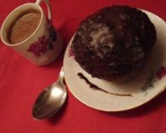 Recette petits gâteaux choco-passion et leur sauce au chocolat à l ...