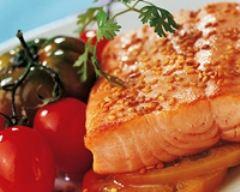 Recette pavés de truite aux tomates et graines de sésame