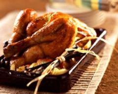 Recette poulet au thym et à la vanille