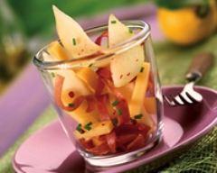 Recette salade sucrée salée à la poire