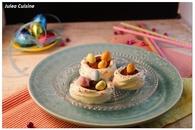 Recette de nids de pâques en meringues et chocolat