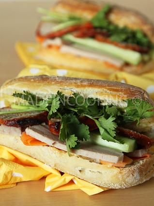 Recette de banh mi, sandwich vietnamien