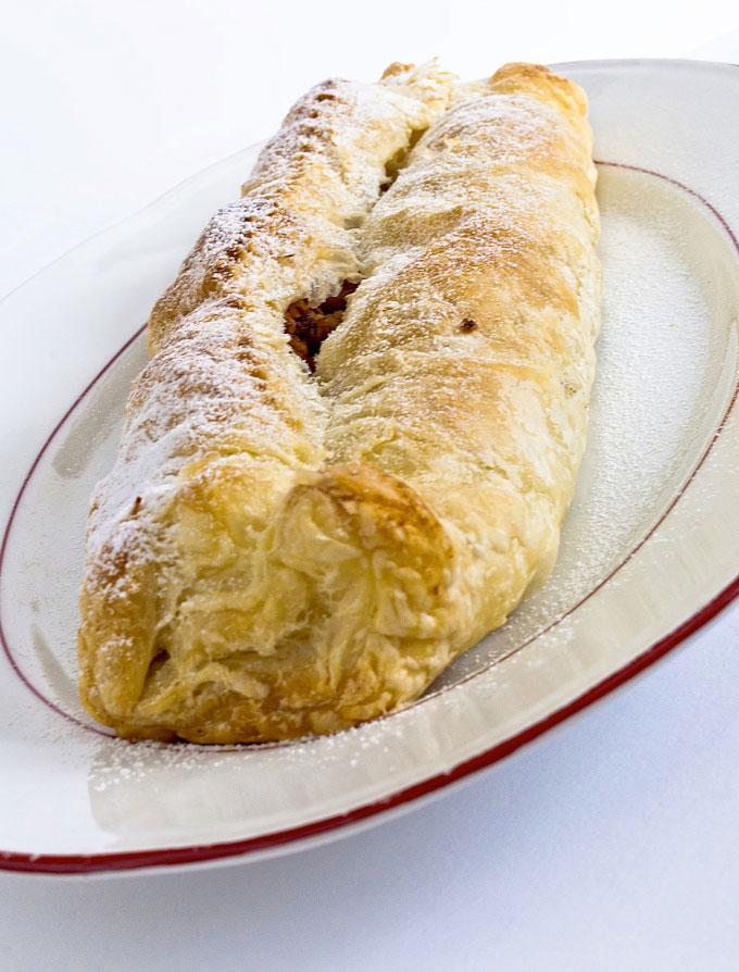 La recette italienne du strudel aux pommes