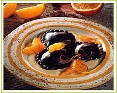 Recette ravioles au chocolat et à l'orange