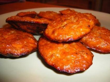 Recette de madeleines de thon à la tomate