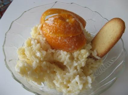 Recette de riz au lait au zeste d'orange