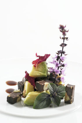 Recette de salade d'avocat au chocolat noir