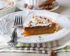 Recette tarte aux noix et caramel au beurre salé