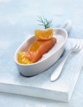 Tartare de saumon et de lotte pour 4 personnes