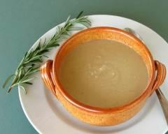 Recette soupe aux haricots blancs et romarin pauvre en sel